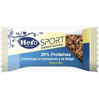 Hero barrita sport chocolate de 35g. por 2 unidades