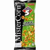 Grefusa cocktail mix 5 snack attraction mr corn de 115g. en bolsa