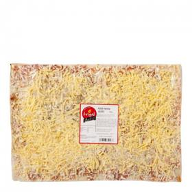Pizza 4 quesos trigal de 850g.