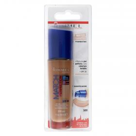 Rimmel maquillaje match perfection fundation nº300 sand