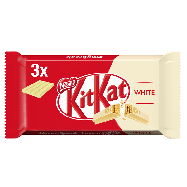 Kit Kat barrita chocolate blanco unidad de 41,5g.