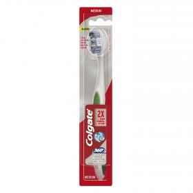 Colgate cepillo dental max white expert medium