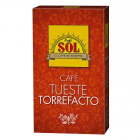 Sol cafe tueste torrefacto cafe de 200g.