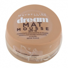 Maybelline maquillaje dream mat mousse 21 nude