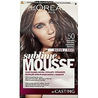 Sublime tinte nº 500 castaño natural loreal mousse