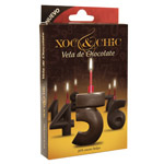 Xoc & chic vela chocolate nº 5