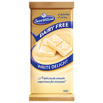 Sweet William chocolate blanco sin lactosa sin gluten estuche de 100g.