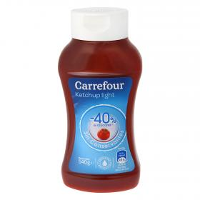 Carrefour ketchup light de 540g.