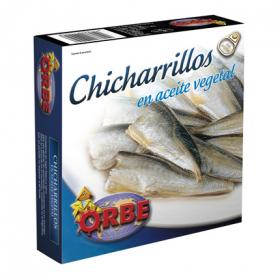 Orbe chicharrillo en aceite de 280g.