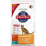 Hill's Science plan adult optimal care alimento especial gatos adultos con atun un cuidado optimo de 2kg. en bolsa