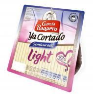 García Baquero queso light ya corta de 250g.