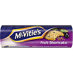 Mcvitie's fruit shortcake galletas con grosellas de 200g. en paquete
