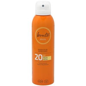 Bonte bruma solar refrescante proteccion media 20 spf de 20cl. en spray