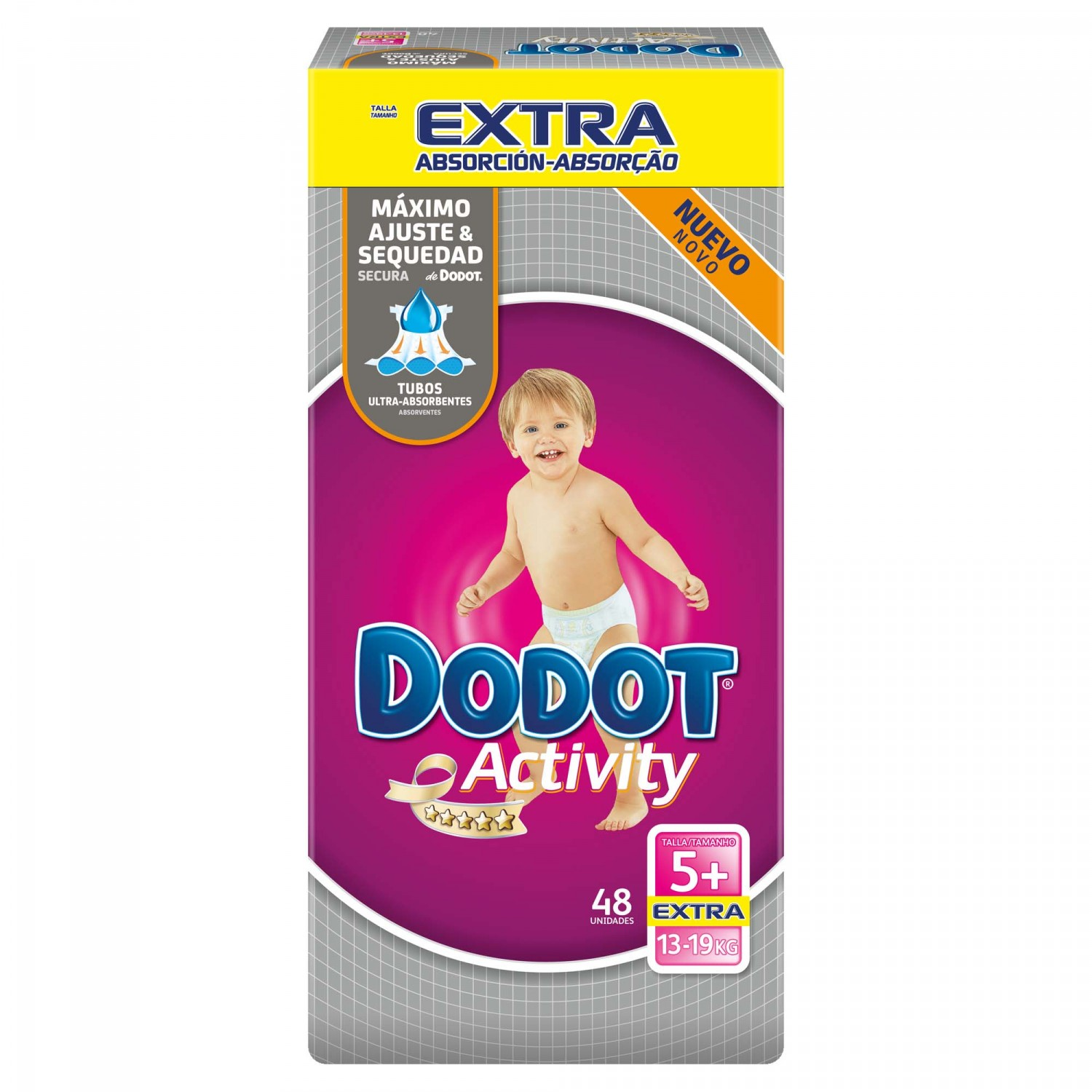 Dodot Activity pañal t 5 extra 48