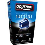 Oquendo placidezza cafe tueste natural descafeinado compatibles con maquinas nespresso estuche 10 de 50g.