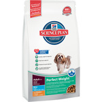Hill's Science plan perfect weight alimento con bajo contenido en grasa con pollo envase de 6kg.