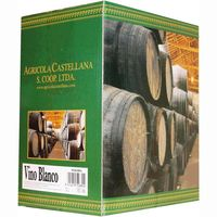 Vino blanco solera agricola bag in box de 5l.
