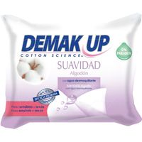 Toallitas suaves demak`up 20 en paquete