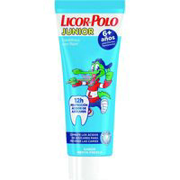 Licor Del Polo dentifrico junior menta 6 tubo de 75ml.