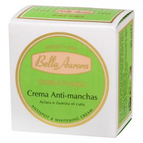 Bella Aurora crema antimanchas doble fuerza de 30ml.