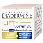 Diadermine lift plus crema antiarrugas nutritiva doble accion noche reafirmante de 50ml. en bote