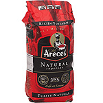 Areces cafe natural en grano de 500g. en paquete