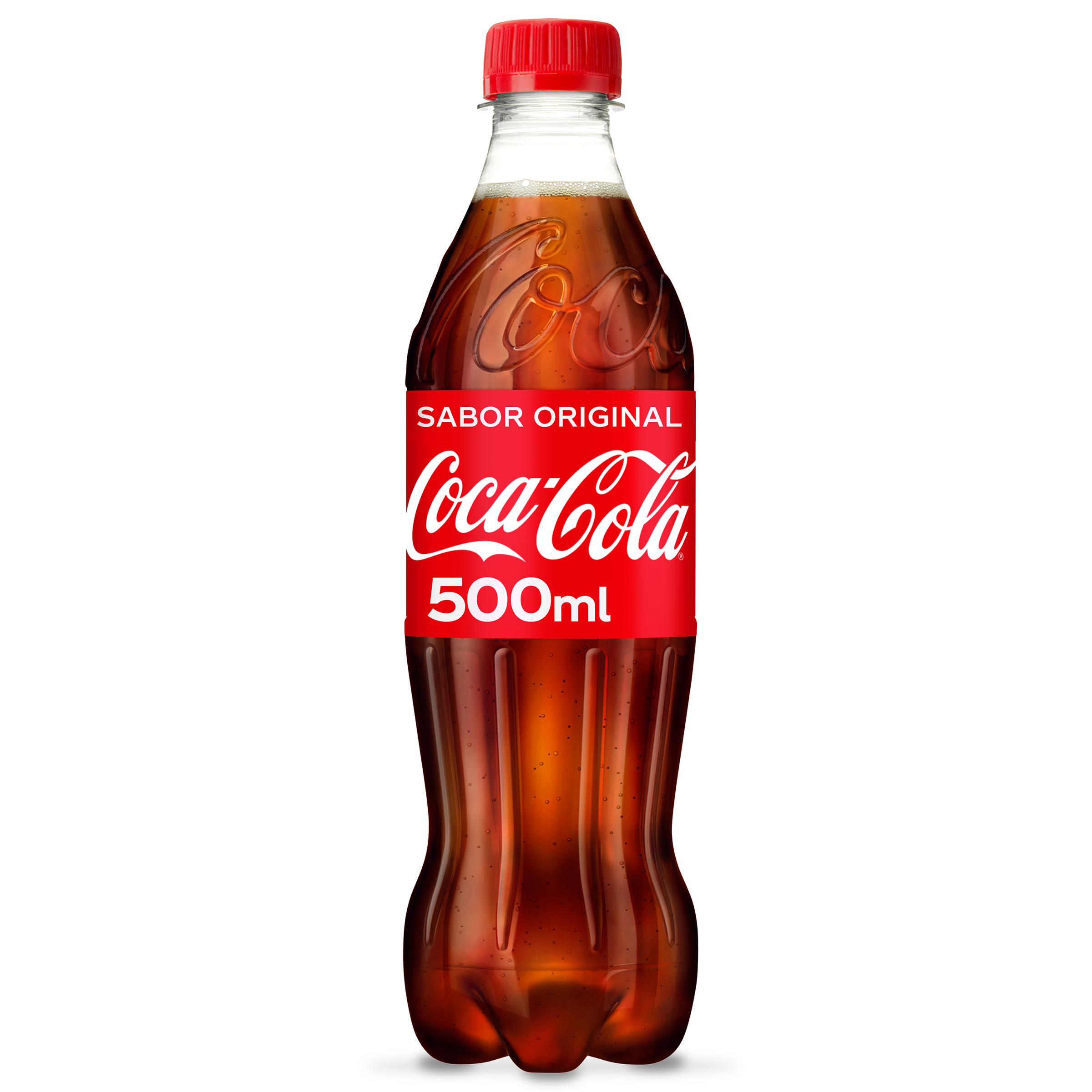 Coca Cola clasica refresco cola de 50cl. en botella