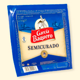 García Baquero queso semicurado cuña de 250g.