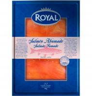 Royal salmon ahumado de 80g.