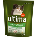 Ultima health cat control tracto urinario pollo arroz de 800g. en paquete