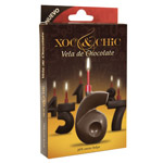 Xoc & chic vela chocolate nº 6