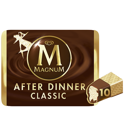 Magnum magnum after dinner 10mp 290g de 35cl. por 10 unidades