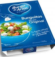 Arias burguitos natural de 120g.