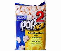 Pop Up palomitas mantequilla de 100g. por 2 unidades