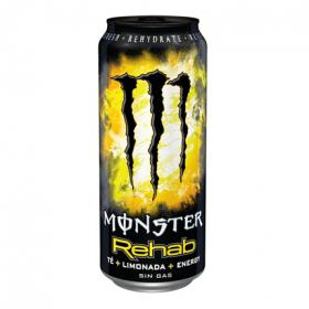 Monster refresco energy rehab de 50cl.