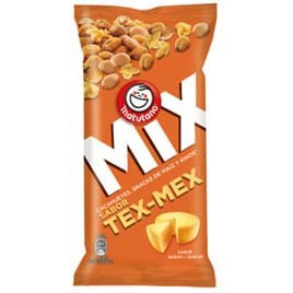 Matutano cocktail mix tex mex de 120g. en bolsa