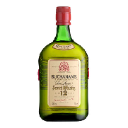 Buchanan's finest blended scotch whisky 12 años de 1l.
