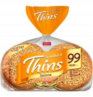 Bimbo pan thins quinoa de 310g.