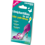Aquamed active party mini plantillas de gel para aliviar el dolor en la planta del pie por 2 unidades en caja