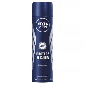 Nivea Men desodorante hombre antitranspirante sin irritaciones nivea for men hombre protege & cuida de 20cl. en spray