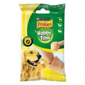 Friskies pleasure chewing hueso nudo grande perro ad 1