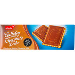 Aliada galletas con tableta chocolate con leche estuche de 150g.