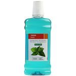 Eroski Basic enjuague bucal verde de 50cl.