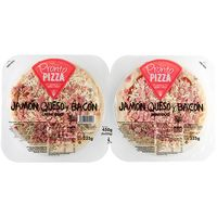 Pronto Pizza pizza jamon bacon queso de 225g. por 2 unidades