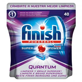Finish calgonit power ball quantum 40 en caja