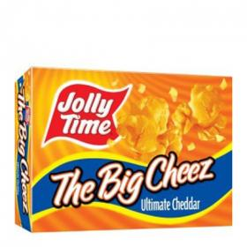 Palomitas con queso microondas jolly time de 387g.
