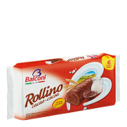 Balconi mini rollitos chocolate de 222g.