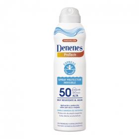 Denenes protector invisible piel mojada fp 50 de 25cl. en spray