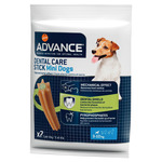 Advance dental care stick snack dental perros raza mini de 90g. en paquete