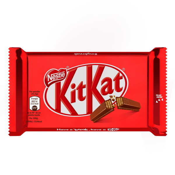 Kit Kat chocolate con leche lc tableta de 41,5g.